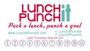 lunch it punch it